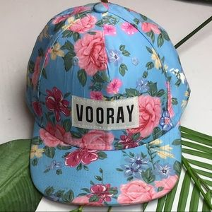 Vooray Floral NWOT Baseball Cap One Size